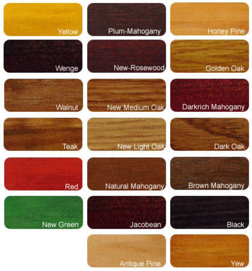 Morrells Light Fast Stain Yew, 1L Image 1