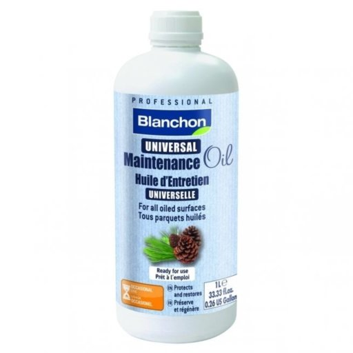 Blanchon Universal Maintenance Oil, Matt, 1L Image 1