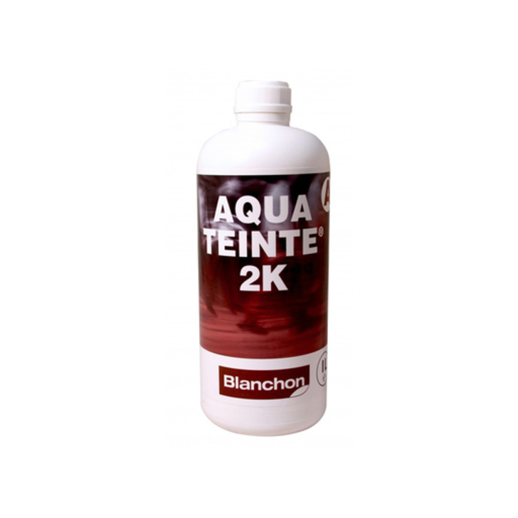 Blanchon Aquateinte 2K, PU Waterbased Stain, Ipe, 1L Image 1