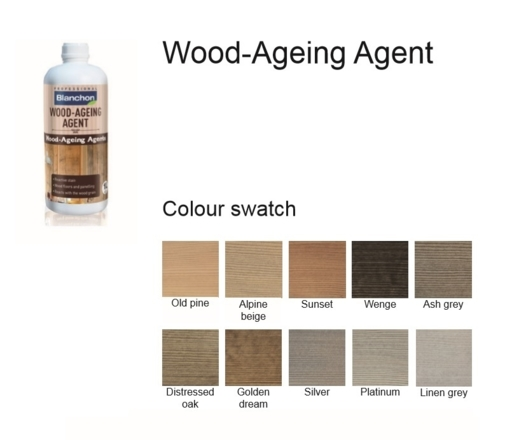 Blanchon Wood-Ageing Agent Distressed Oak, 0.25L Image 2