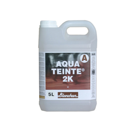 Blanchon Aquateinte 2K, PU Waterbased Stain, Colourless, 5L Image 1