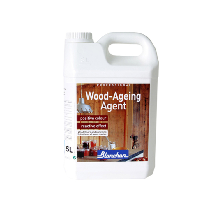 Blanchon Wood-Ageing Agent Linen Grey, 5L Image 1