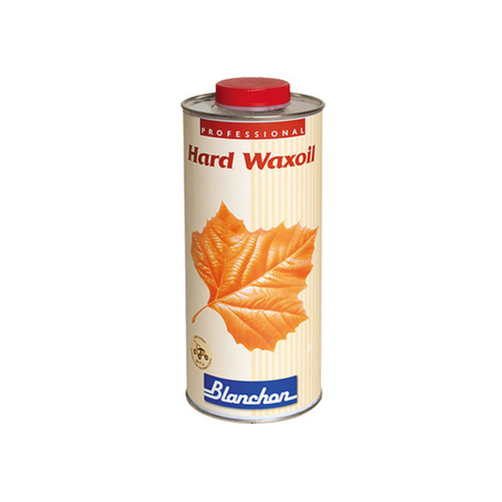 Blanchon Hardwax-Oil, White, 1 L Image 1