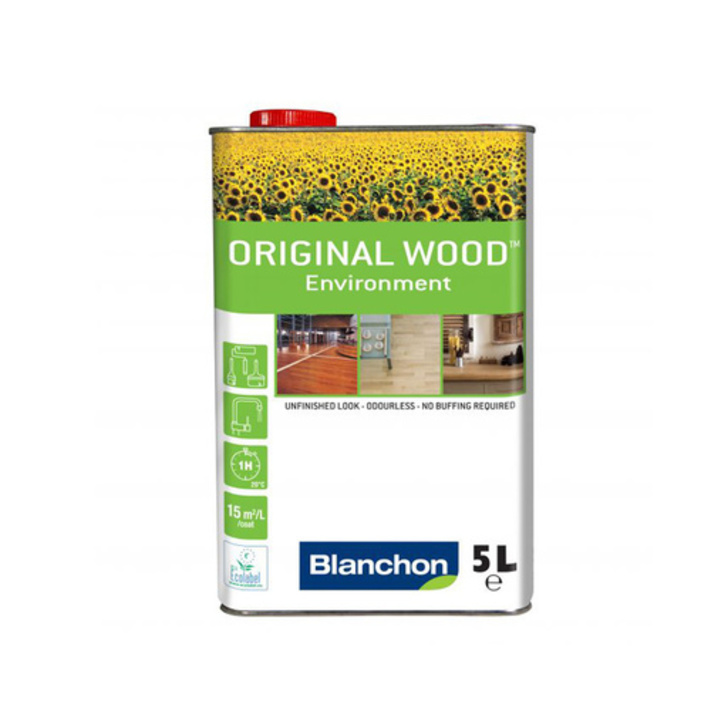 Blanchon Original Wood Oil Environment, Ultra Matt, 5 L Image 1