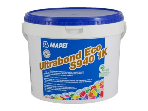 Mapei Ultrabond Eco S940, 1-Component Wood Floor Adhesive 15 kg Image 1