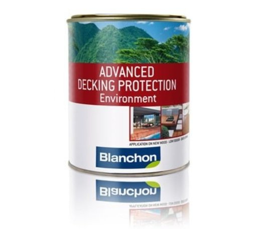 Blanchon Advanced Decking Protection Environment, Dark Wood, 5L Image 1
