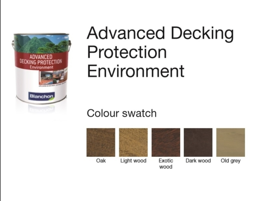 Blanchon Advanced Decking Protection Environment, Dark Wood, 5L Image 2