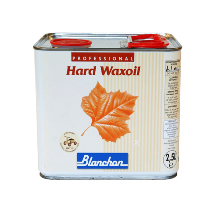 Blanchon Hardwax-Oil, Light Grey, 2.5 L Image 1