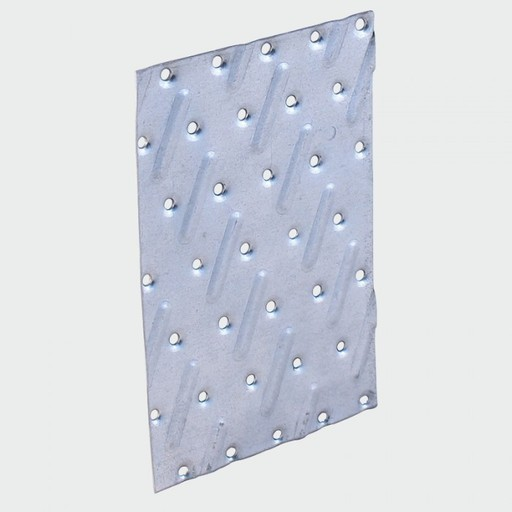 Galvanised Timber Jointing Nail Plate, 104x154 mm Image 1