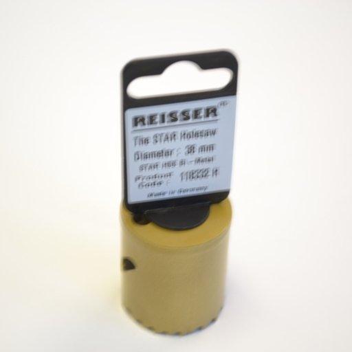 Reisser HSS Bi-Metal Holesaw, 38 mm Image 1