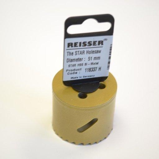 Reisser HSS Bi-Metal Holesaw, 51 mm Image 1