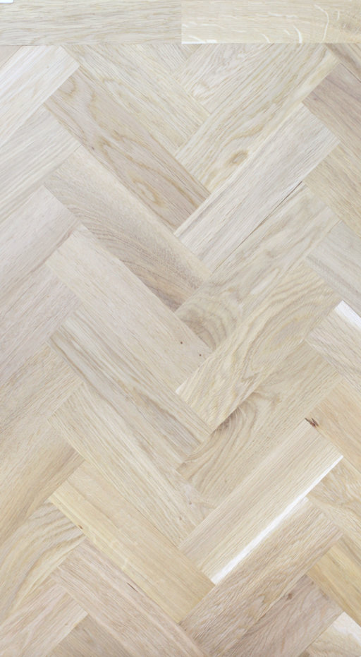 Tradition Classics Solid Oak Parquet Flooring Blocks, Unfinished, Rustic, 22x70x230 mm Image 2
