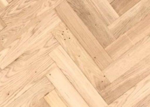 Tradition Classics Solid Oak Parquet Flooring Blocks, Unfinished, Prime, 22x70x350 mm Image 1