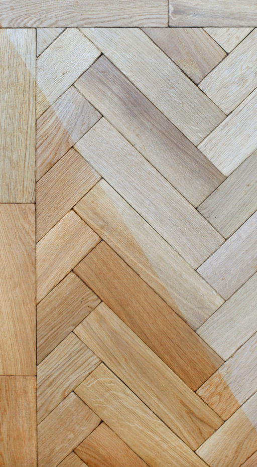Tradition Classics Solid Oak Parquet Flooring Blocks, Unfinished, Rustic, 22x70x280 mm Image 2