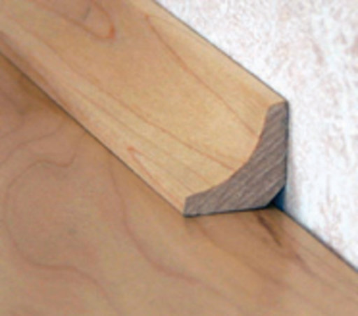 Solid Oak Scotia Beading, Lacquered, 19x19 mm, 2.4 m Image 1