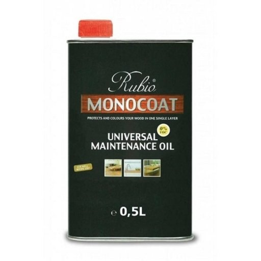 Rubio Monocoat Universal Maintenance Oil, Pure, 0.5 L Image 1