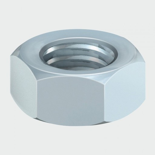 Hex Nut BZP, M12, 10 pk Image 1