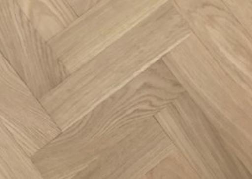 Tradition Classics Solid Oak Parquet Flooring Blocks, Unfinished, Rustic, 22x70x500 mm Image 1