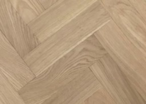 Tradition Classics Solid Oak Overlay Parquet Flooring, Unfinished, Prime, 10x70x350 mm Image 1