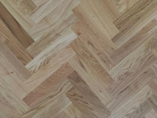 Tradition Classics Herringbone Engineered Oak Flooring, Rustic, Lacquered, 70x11x350 mm Image 1