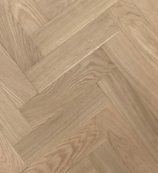 Tradition Classics Herringbone Engineered Oak Parquet Flooring, Unfinished, Prime, 70x11.4x350 mm Image 1
