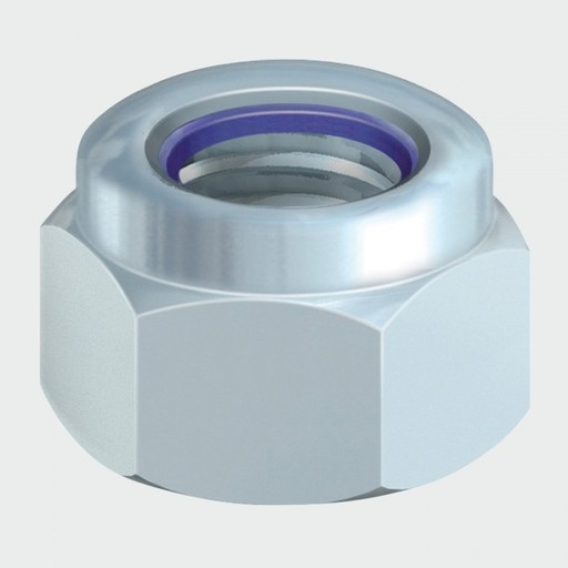 P Nylon Nut, M16, 2 pk Image 1