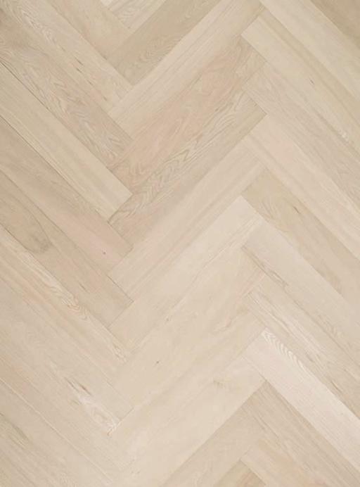Tradition Classics Herringbone Engineered Oak Parquet Flooring, Unfinished, Rustic, 70x15.4x280 mm Image 1