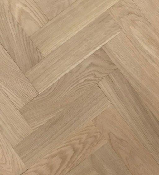 Tradition Classics Herringbone Engineered Oak Parquet Flooring, Unfinished, Prime, 70x20x280 mm Image 1