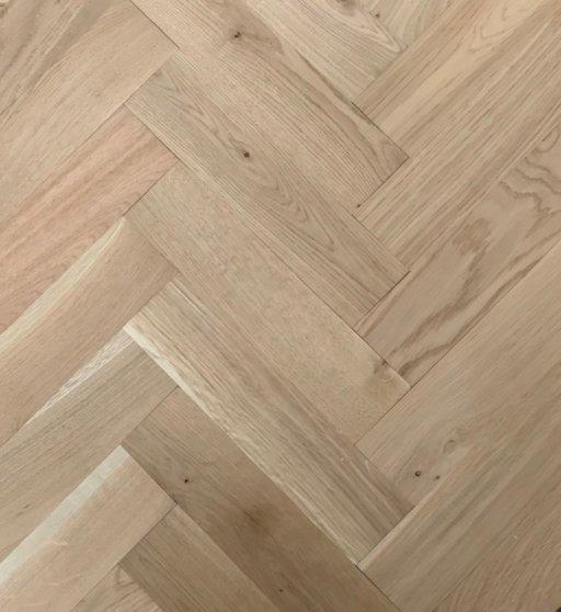 Tradition Classics Herringbone Engineered Oak Parquet Flooring, Unfinished, Rustic, 70x20x280 mm Image 1