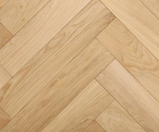 Tradition Classics Engineered Oak Parquet Flooring, Herringbone, Prime, Unfinished, 100x20x500 mm Image 1