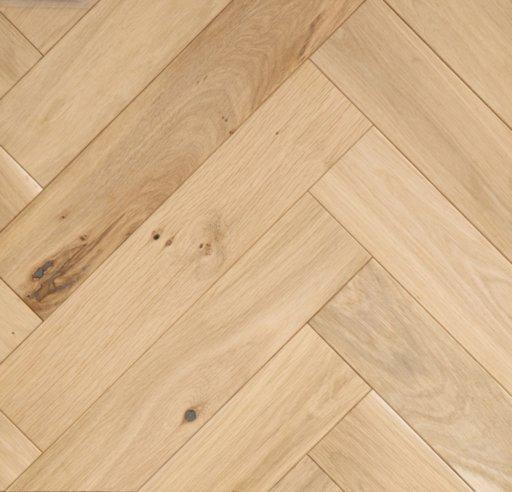 Tradition Classics Herringbone Engineered Oak Parquet Flooring, Unfinished, Rustic,100x20x500 mm Image 1