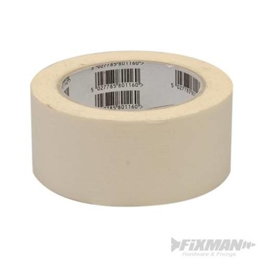 Masking Tape, 50 mm, 50 m Image 1