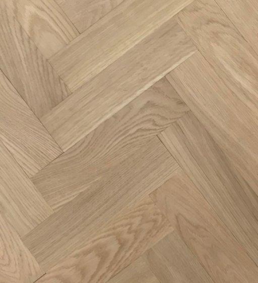 Tradition Classics Herringbone Engineered Oak Parquet Flooring, Unfinished, Prime, 70x20x350 mm Image 1