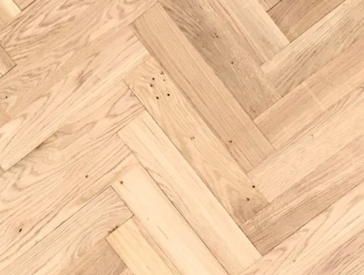 Tradition Classics Herringbone Engineered Oak Parquet Flooring, Unfinished, Rustic, 70x20x350 mm Image 1