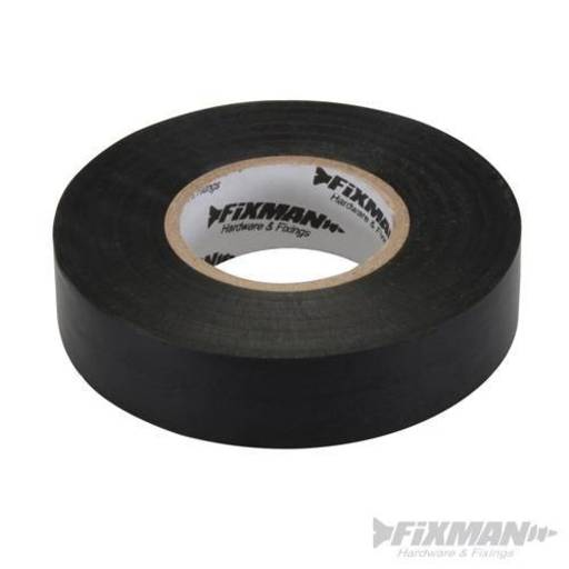 Insulation Tape, Black, 19 mm x 33 m Image 1