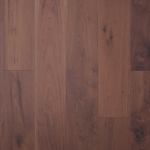 Spectra American Black Walnut Engineered Flooring, Flat, UV Oiled, Rustic, 191x4x18 mm Image 1