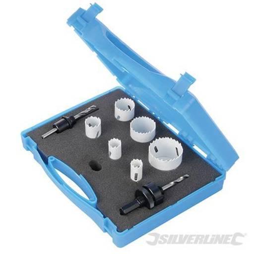 Electricians Bi-Metal Holesaw Kit, 9 pcs Image 1