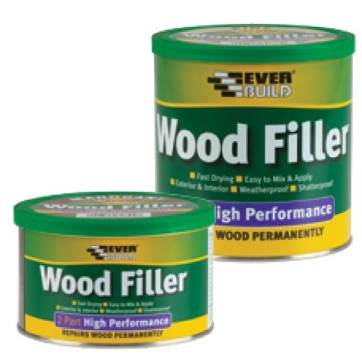High Performance Wood Filler, Light Stainable, 1.4 kg Image 1