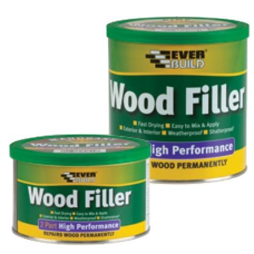High Performance Wood Filler, Pine, 500 gr Image 1