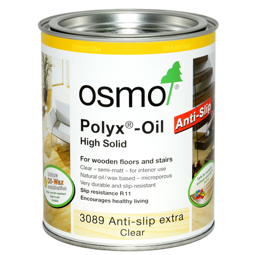 Osmo Polyx-Oil, Anti-Slip, Clear, Semi-Matt, 0.125L Image 1