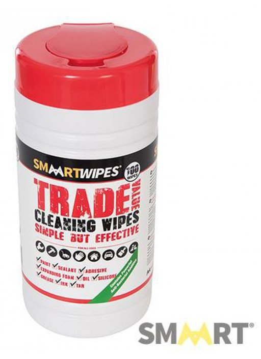 Trade Value Cleaning Wipes, 100 pcs Image 1