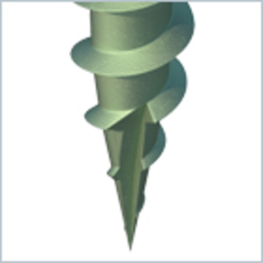 In-Dex Decking Screw, 4.5x50 mm, 175 pk Image 4