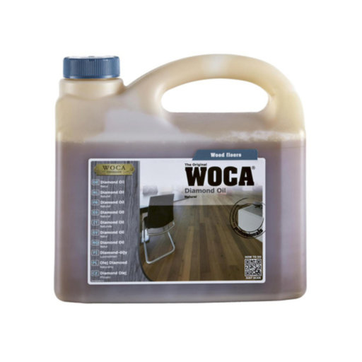WOCA Diamond Oil, Natural, 2.5L Image 1