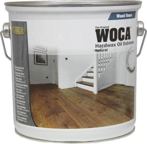 WOCA Hardwax-Oil, Light Grey, 2.5L Image 1