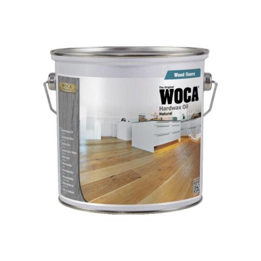 WOCA Hardwax-Oil, Smoked Oak, 2.5L Image 1