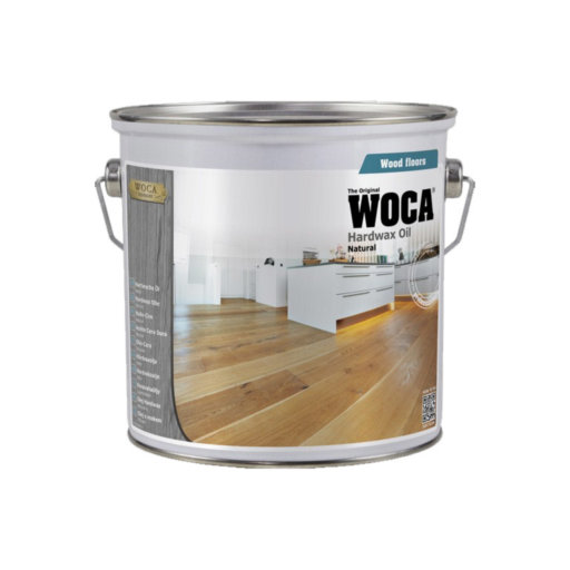 WOCA Hardwax-Oil, Walnut, 2.5L Image 1