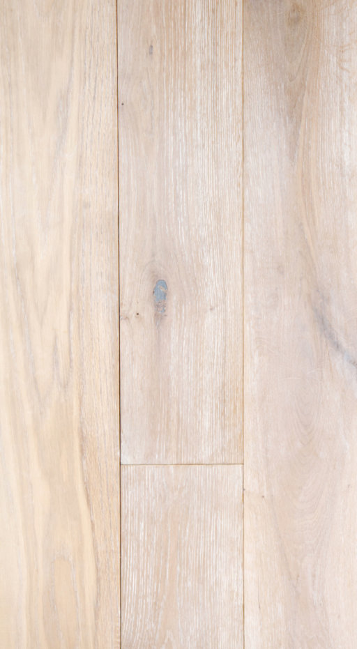 Tradition Classics Engineered Oak Flooring, Rustic, Brushed & White Oiled, 190x20x1900 mm Image 1