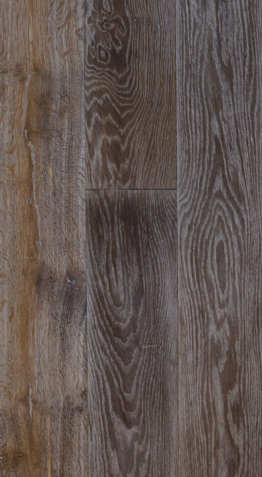 Tradition Classics Engineered Oak Flooring, Rustic, Double Smoked, Brushed & White Oiled, 190x20x1900 mm Image 1