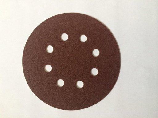 Starcke 180G Sanding Discs, 125 mm, 8 Holes, Velcro Image 1