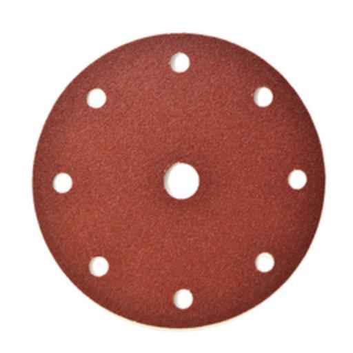Starcke 36G Sanding Discs, 150 mm, 8+1 Holes, Velcro, Festool Image 1